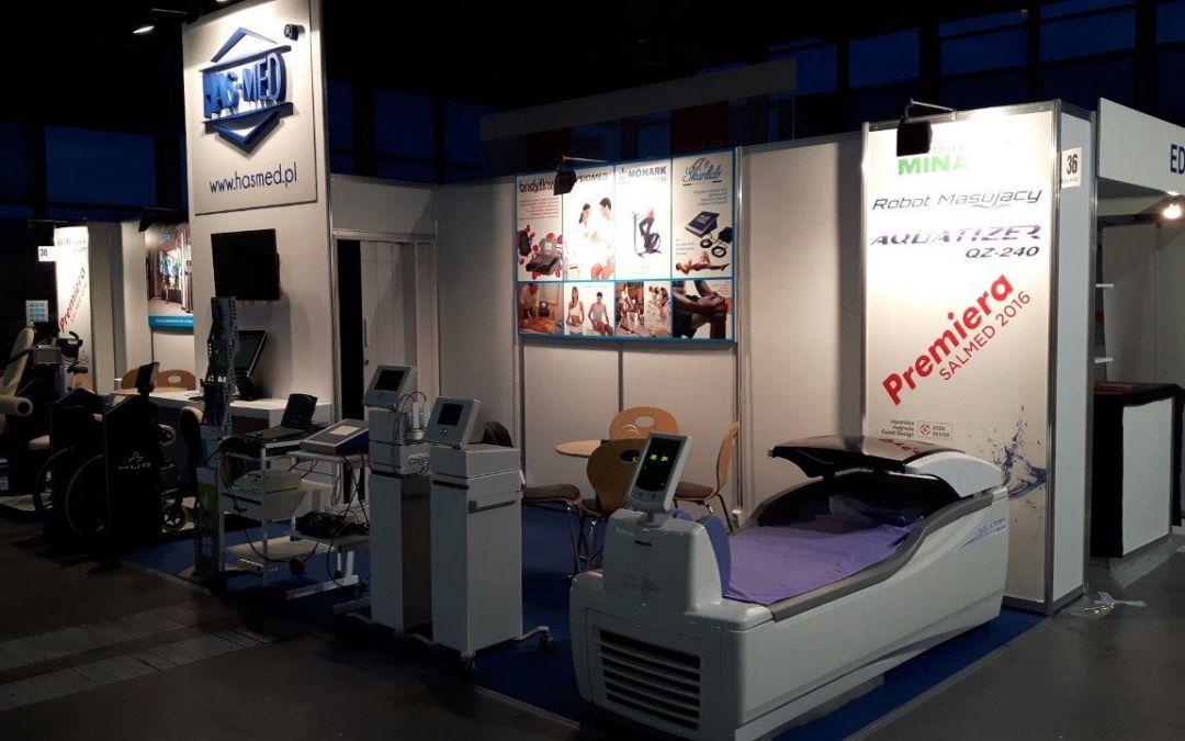 Premiéra Aquatizer QZ-240-SALMED Mezinárodní veletrh zdravotnické techniky a zařízení, březen 2016